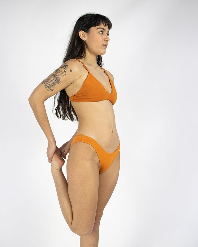 Pumpkin Stella Low Cut Bra