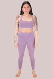 Mauve Peta Leggings
