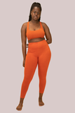 Pumpkin Peta Leggings