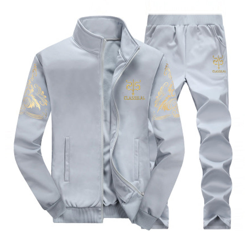 Leisure Sports Printing Two-Tiece Suit