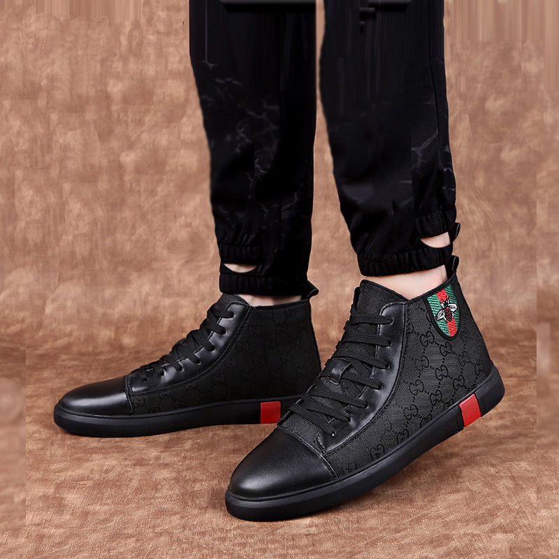 High Quality Classic Cowhide Lace Up Men's Shoes