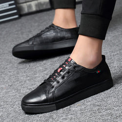 Microfiber Lace Up Men's Sneakers
