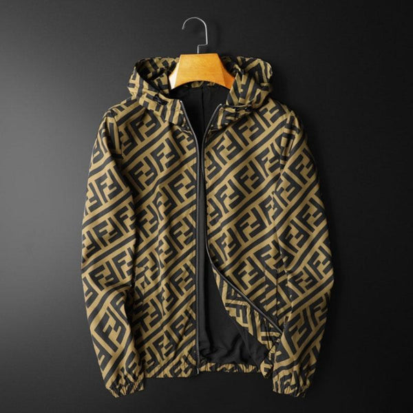 Best Seller Letter Printed Men's Trendy Jacket