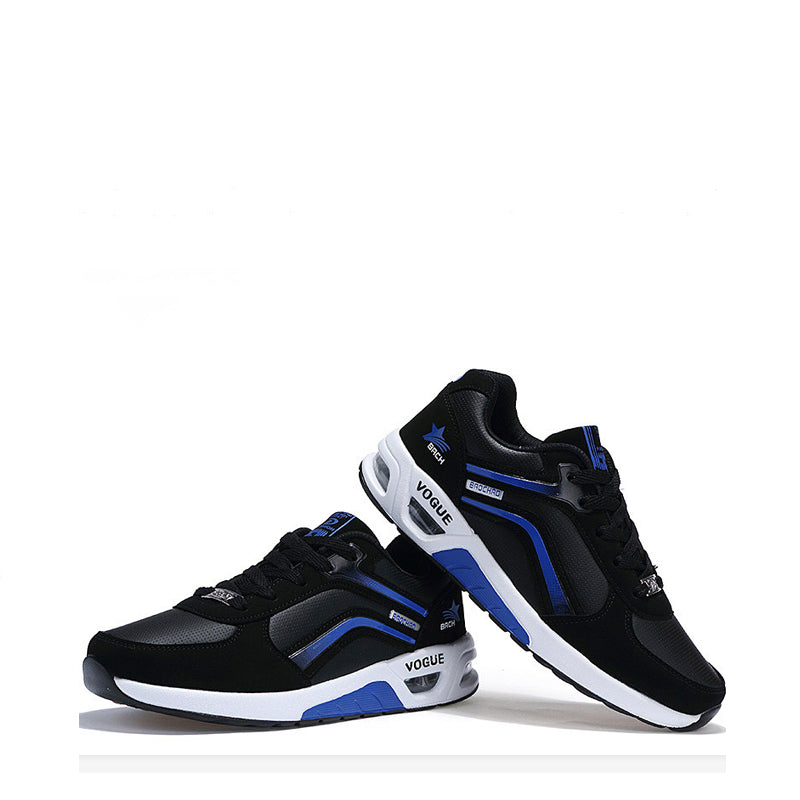 Space Leather Lace Up Air Max Men's Sneakers