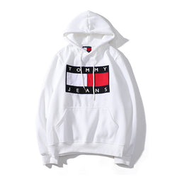 Fashion Letter Printed Hooded Sweater
