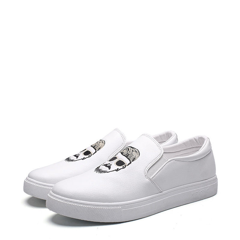 Microfiber Slip-On Men's Sneakers