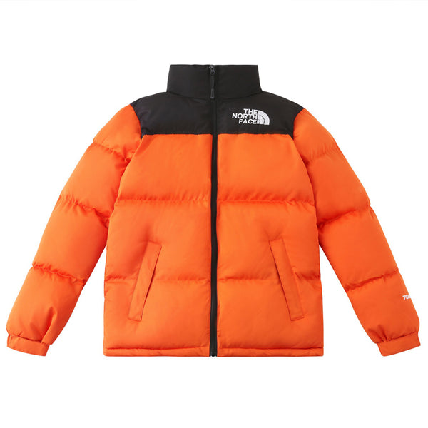 Fashion Stitching-colored Down Jacket