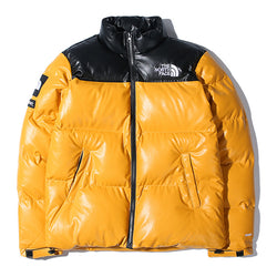 Fashion Leather Cold-proof Down Jacket