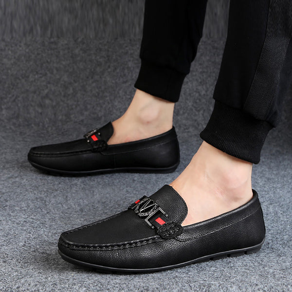 Mesh Slip-On Men's Loafers