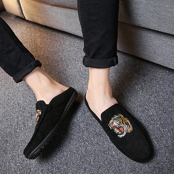 Cloth Slip-On Men's Slippers
