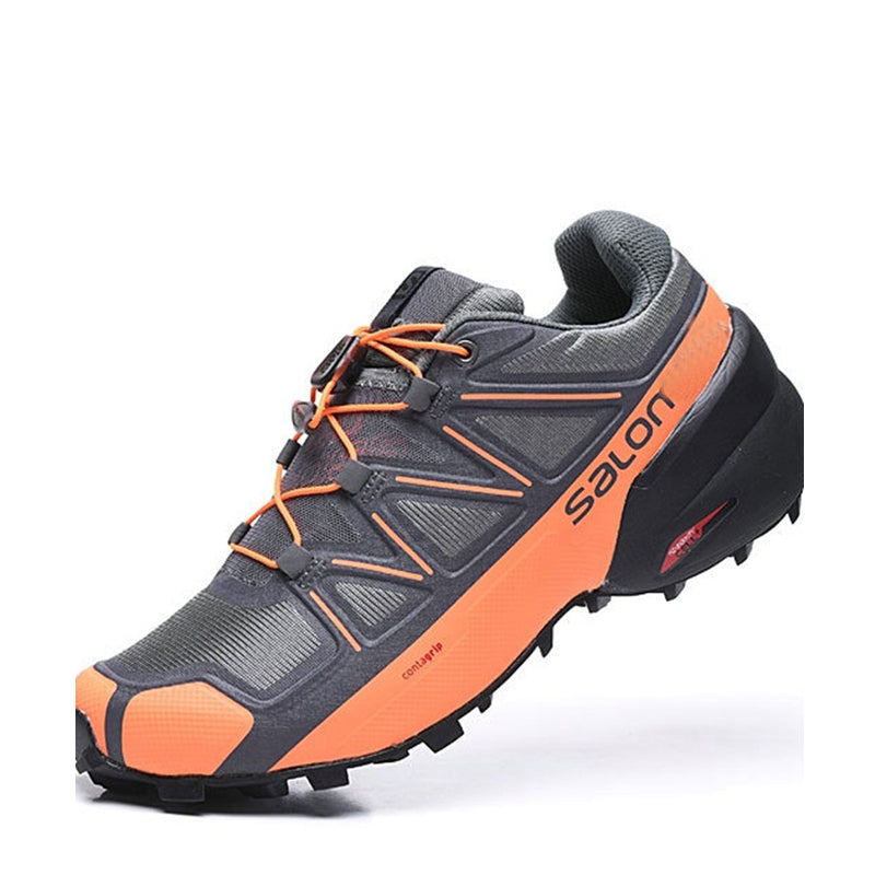 Mesh Lace Up Men's Outdoor Hiking Shoes