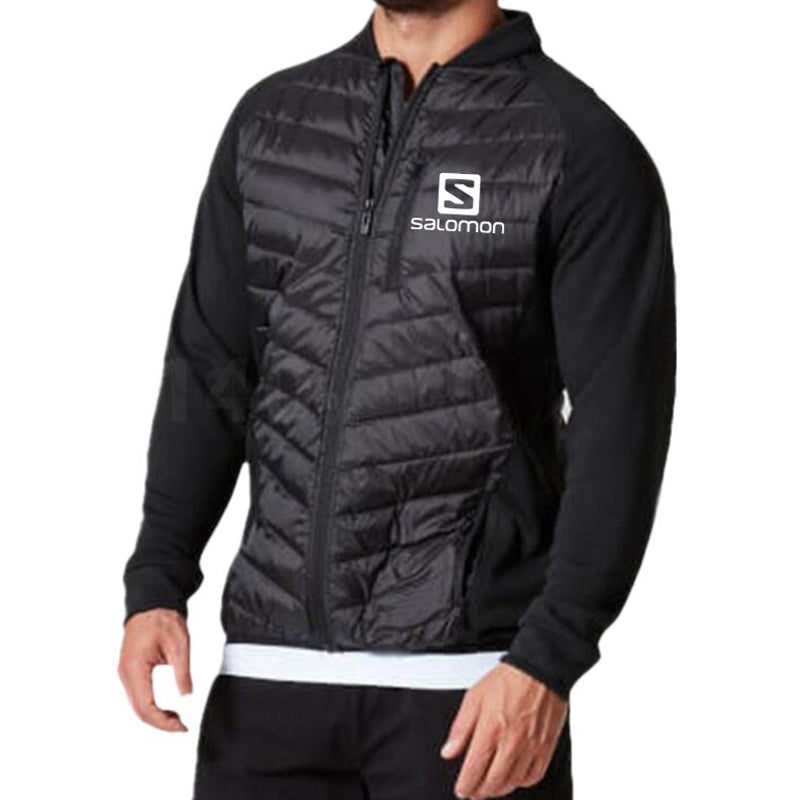 Casual Printed Cold-proof Down Jacket