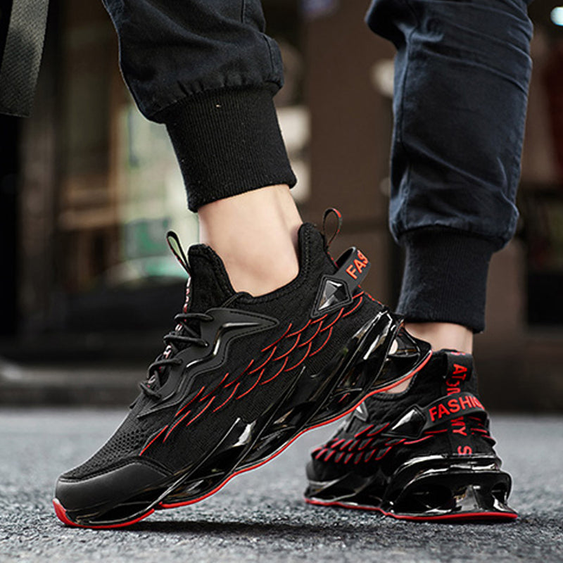 Fashion Men's Knit Breathable Casual Sneakers