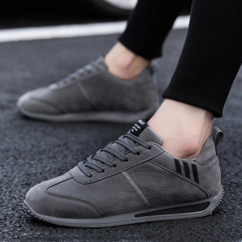 Suede Lace Up Men's Sneakers