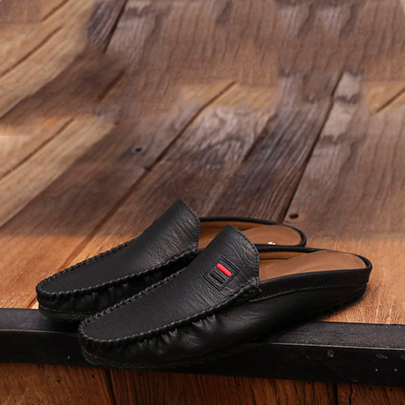 Microfiber Slip On Men's Slippers