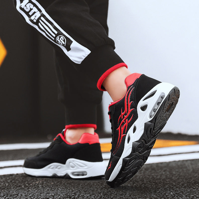 Mesh Lace Up Runing Men's Sneakers