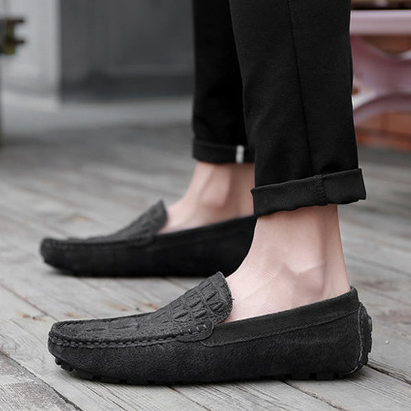 Pig Skin Slip-On Men's Loafers