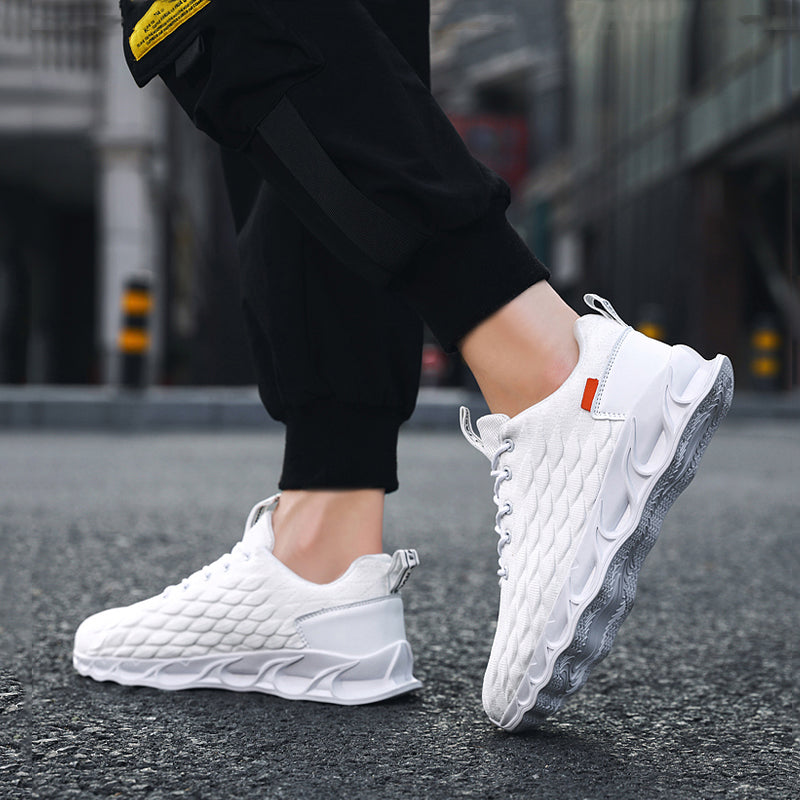 Mesh Lace Up Cold-proof Men's Sneakers
