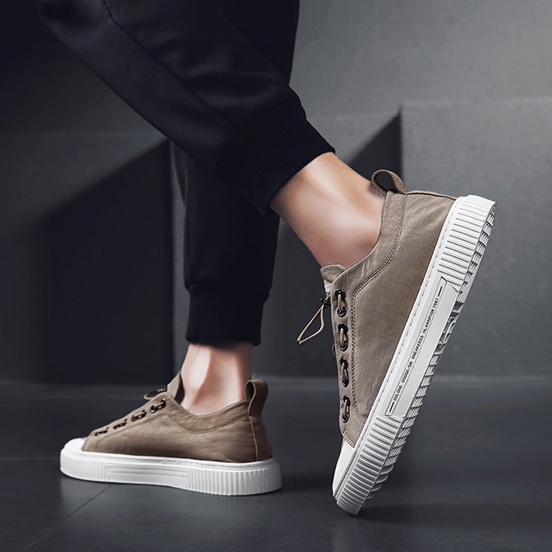 Cloth Elastic Band Men's Sneakers
