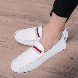 Cowhide Slip-On Men's Loafers