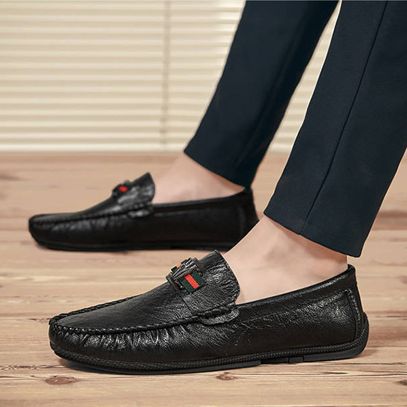Microfiber Slip On Men's Dress Shoes