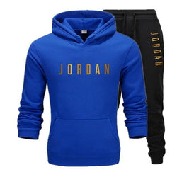 Fashion Men's Brand Sportswear Hoodie + Pants Suit