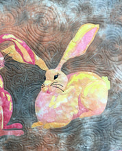 Load image into Gallery viewer, Juliet Bunny raw edge applique quilt pattern
