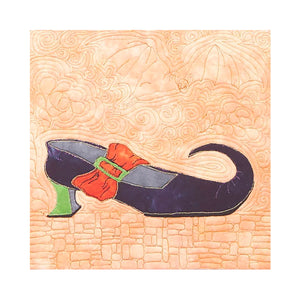 'Which Shoes?' Applique Table Runner Quilt Pattern for Halloween