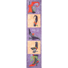 Load image into Gallery viewer, 'Which Shoes?' Applique Table Runner Quilt Pattern for Halloween