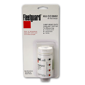 Fleetguard Coolant 3-Way Test Strip - CC2602
