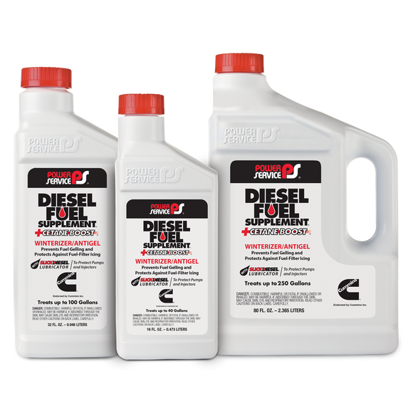 Power Service - Diesel Fuel Supplement + Cetane Boost