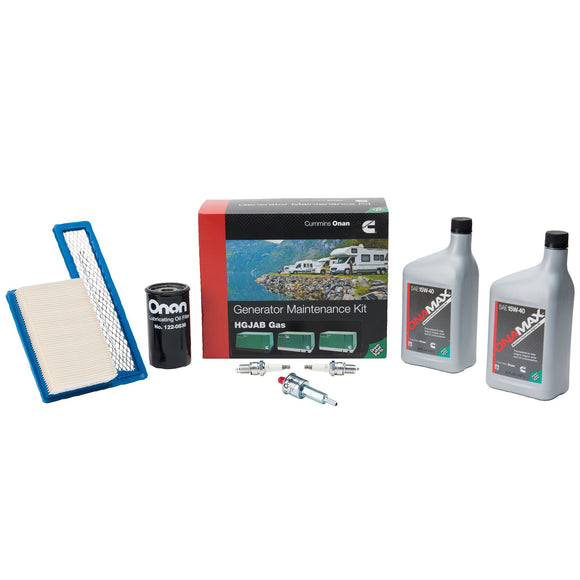 Maintenance Kit for Cummins Onan HGJAB Gas Generator - A049E501