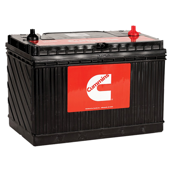Cummins Group 24 Battery, 700CCA, 120RC, Free Replacement Warranty