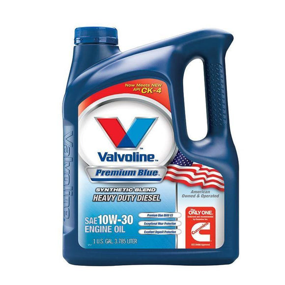 Valvoline Premium Blue 8600 ES SYNTHETIC 10W30 1 Gal