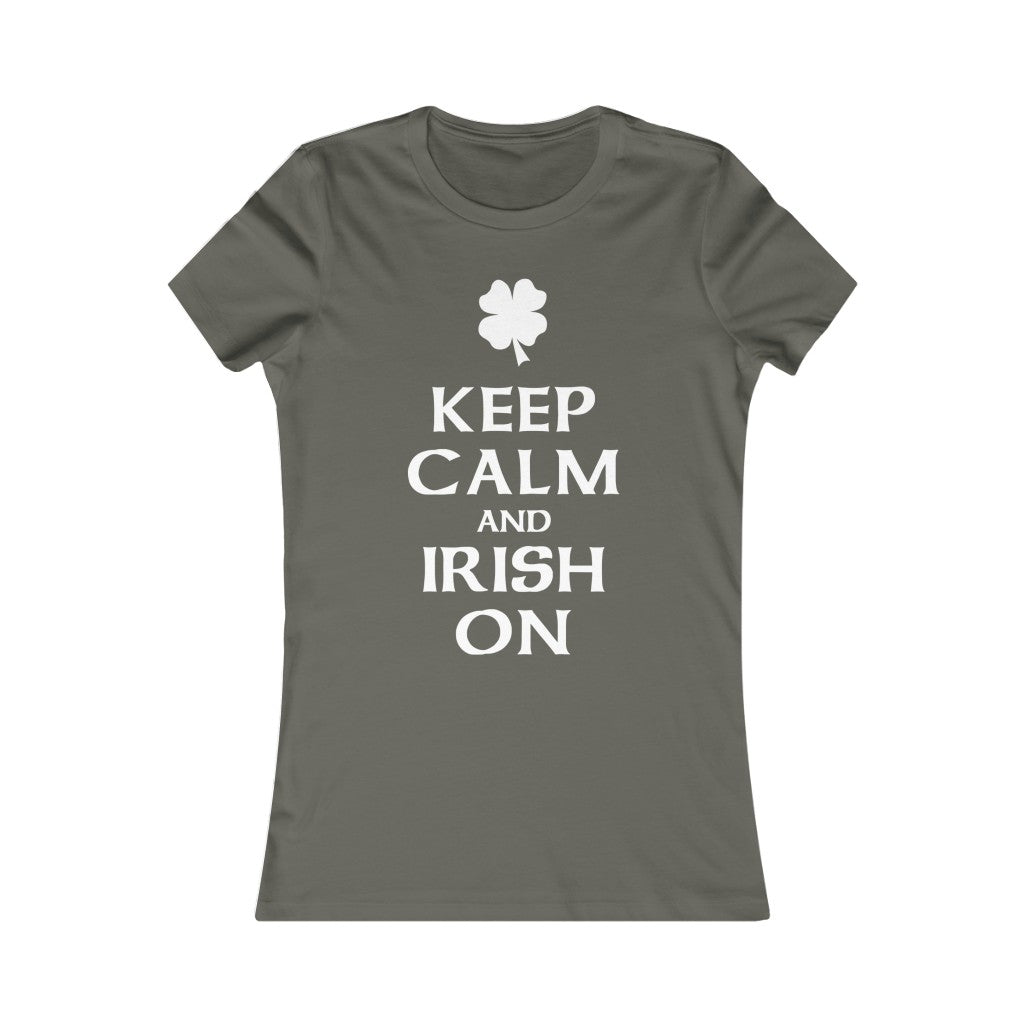 Keep Calm & Irish On Tee