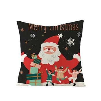45*45 Cm New Year Christmas Santa Claus Decorations-Marks'Marketplace