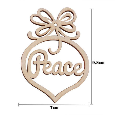 6Pc Merry Christmas Decorations For Home Decor-Marks'Marketplace