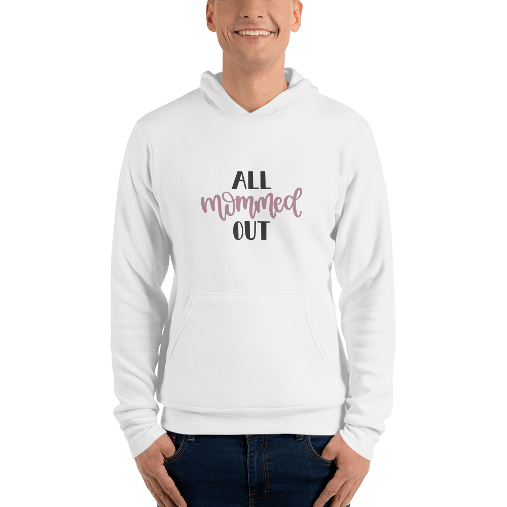 All mommed out Men hoodie Marks'Marketplace White S