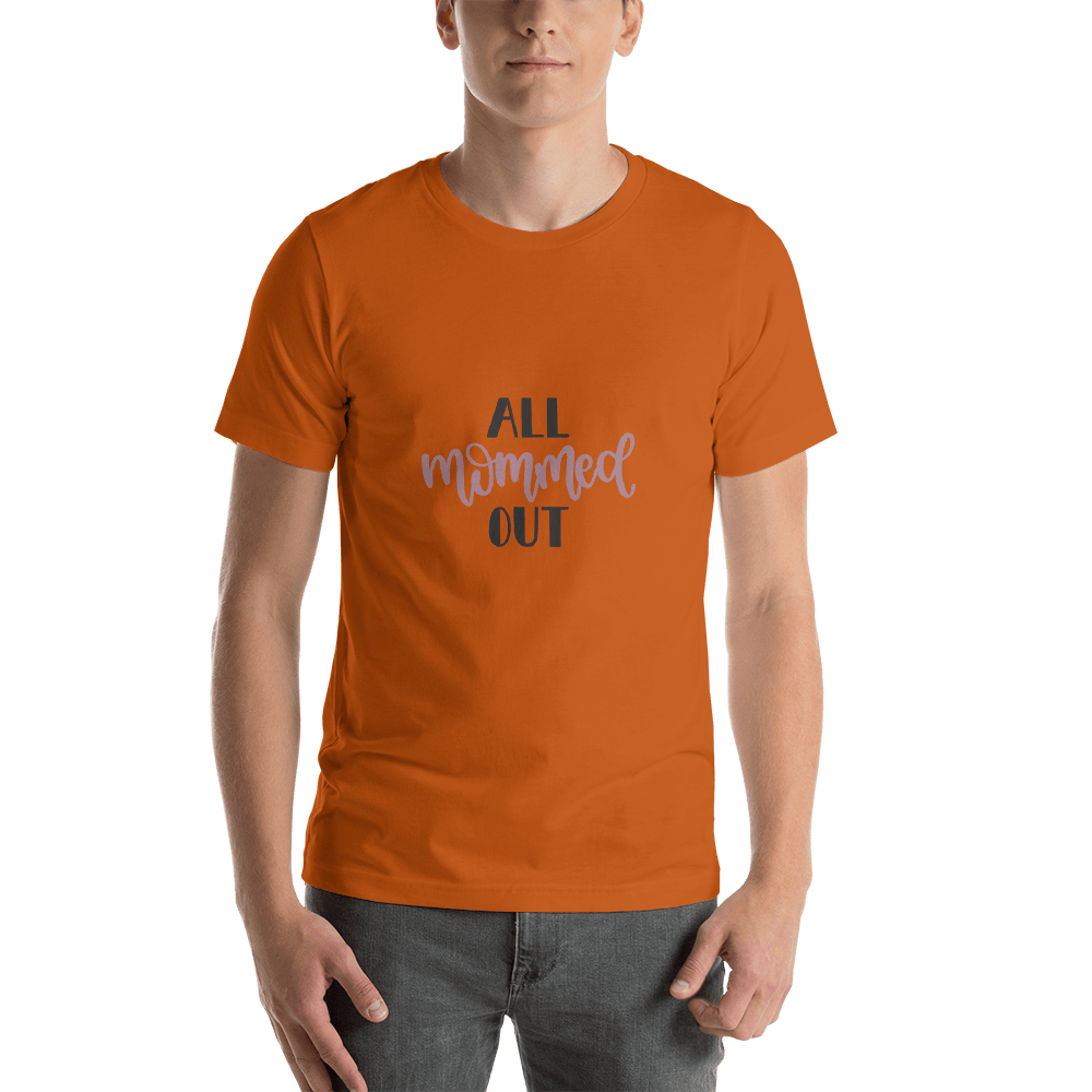 All mommed out Men Short-Sleeve T-Shirt Marks'Marketplace Autumn S