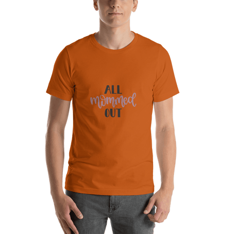Image of All mommed out Men Short-Sleeve T-Shirt Marks'Marketplace Autumn S