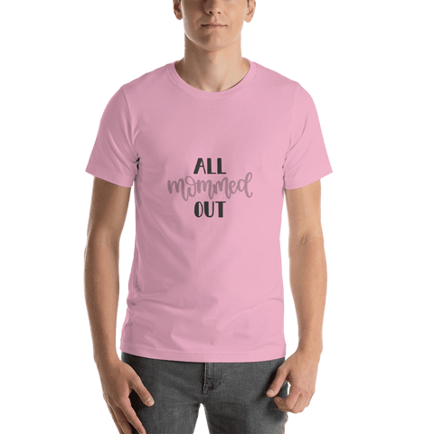 Image of All mommed out Men Short-Sleeve T-Shirt Marks'Marketplace Lilac S