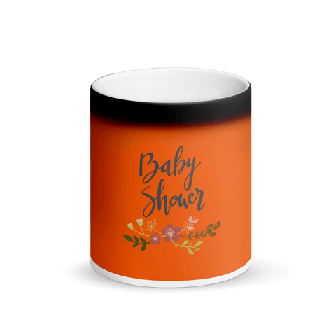 Image of baby shower Matte Black Magic Mug Marks'Marketplace