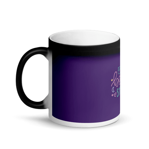 Image of baby stuff Matte Black Magic Mug Marks'Marketplace