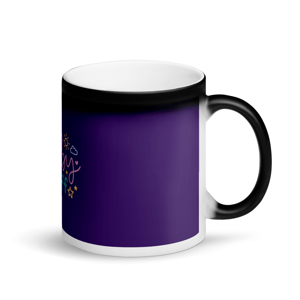 baby stuff Matte Black Magic Mug Marks'Marketplace