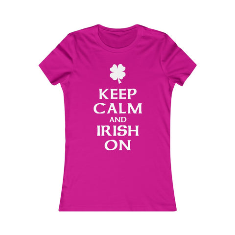 Image of Keep Calm & Irish On Tee
