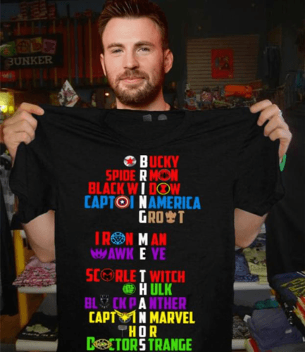 Bring Me Thanos Superheroes Bucky Spiderman T Shirt Men Marks'Marketplace