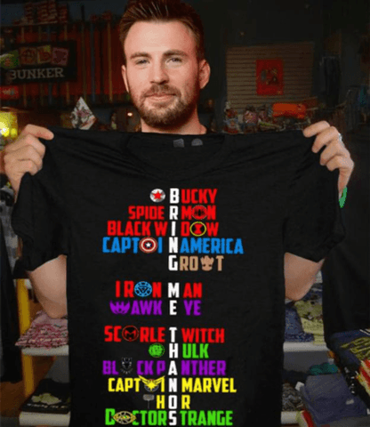 Image of Bring Me Thanos Superheroes Bucky Spiderman T Shirt Men Marks'Marketplace