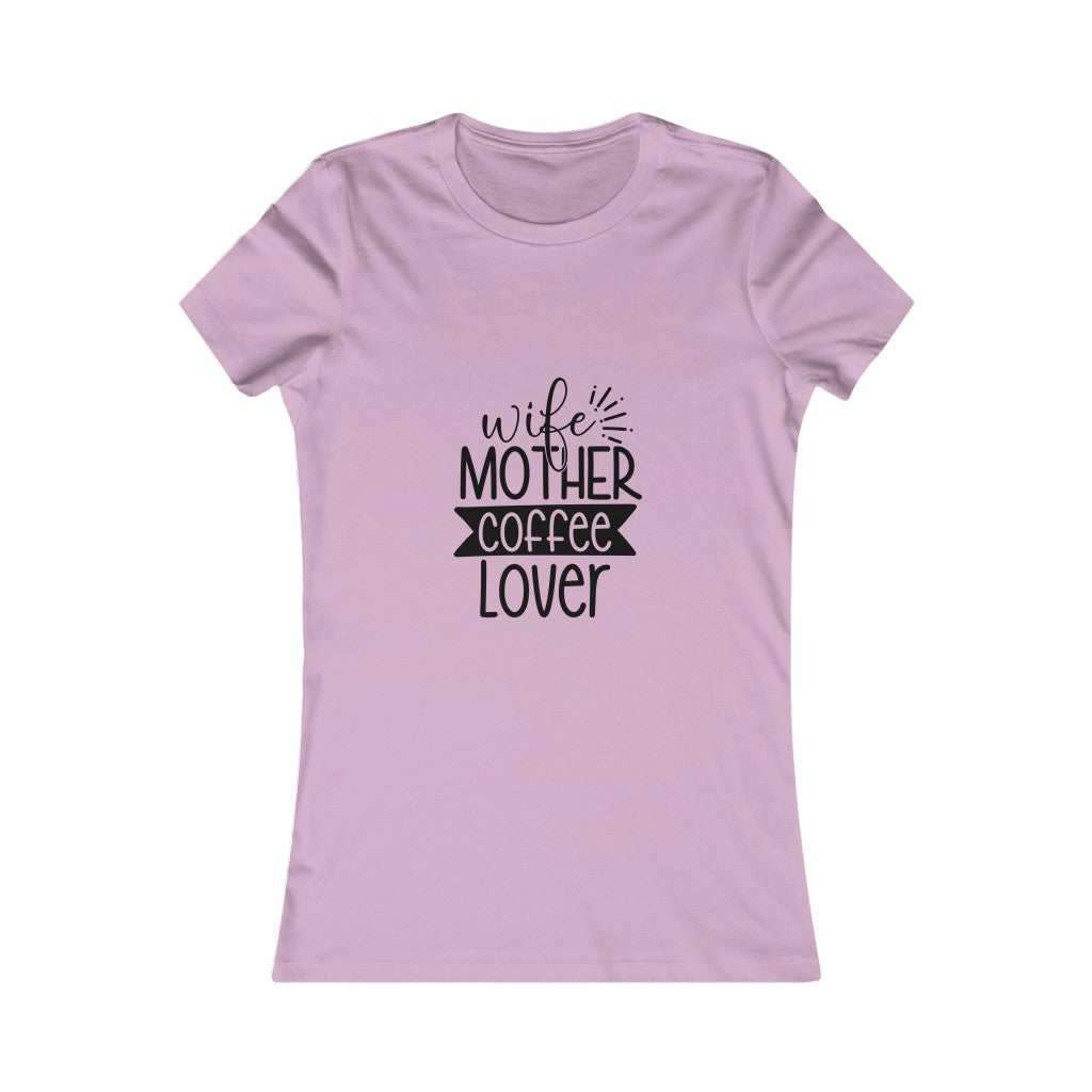 Mother Coffee Lover Tee