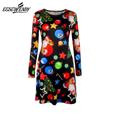 Casual Women Winter Dresses Marks'Marketplace