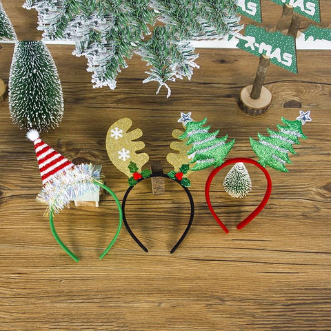 Image of Christmas Girls Headband Headband Marks'Marketplace